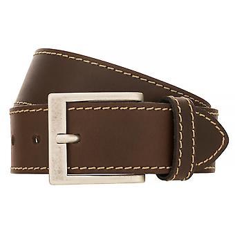 BERND GÖTZ belts men's belts leather belt Brown 500