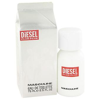 Diesel plus plus eau de toilette spray by diesel 404400 75 ml
