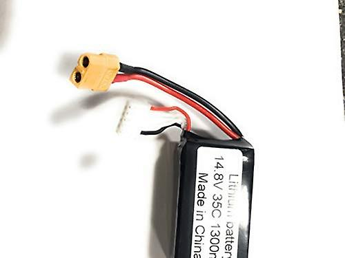 1300mAh 14.8V 35C 4S RC Lipo Battery Hard Case With Dean XT60 For RC Model Boat Truck Buggy RC Car Truck RC Hobby