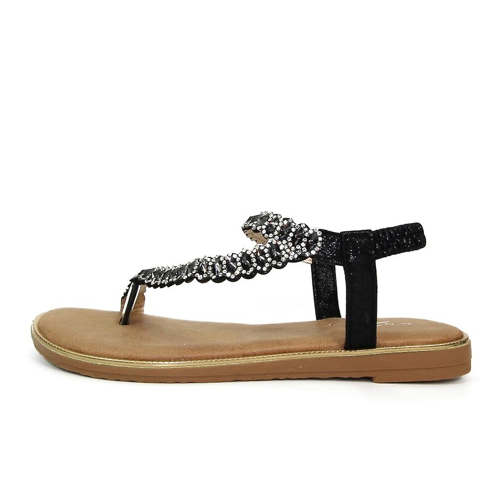 Lunar Yasmine Toe Loop Sandal