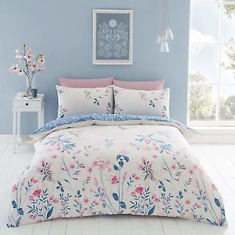 Emma Floral Duvet Cover Set