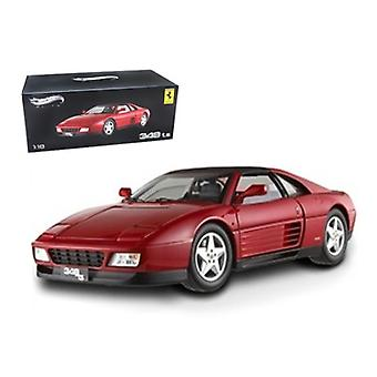 Ferrari 348 Ts Elite Edition Red 1/18 Edición Limitada por Hotwheels