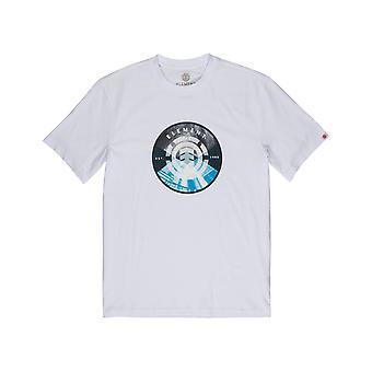 Element Aiken Short Sleeve T-Shirt en blanc optique