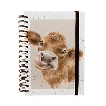 Wrendale Designs Mooo Ring Bound Notebook | Gifts From Handpicked