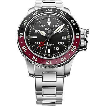 Ball DG2018C-S3C-BK Engineer Hydrocarbon AeroGMT II Wristwatch Red