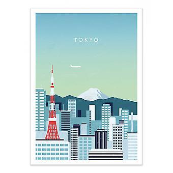 Pôster de Arte - Tóquio - Katinka Reinke