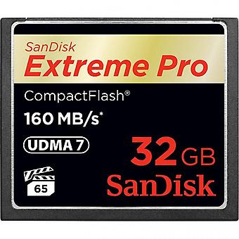 SanDisk Extreme Pro 32GB CompactFlash 160MB/s