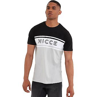 NICCE Panel T-Shirt Black 02