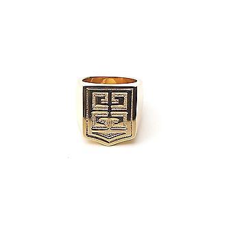 Givenchy Bn301yn039710 Men's Gold Metal Ring