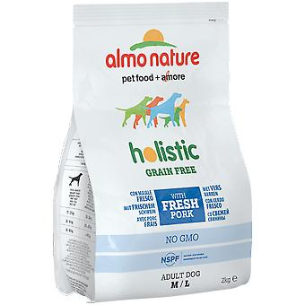 Almo nature Dog Holistic Dry Adult M/L (Dogs , Dog Food , Wet Food)