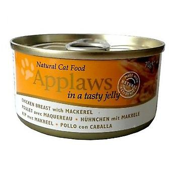 Applaws Chicken with Jellied Mackerel for Cats (Cats , Cat Food , Wet Food)