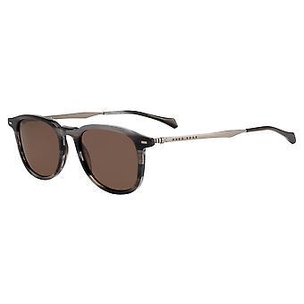 Hugo Boss 1094/S 2W8/70 Grey Horn/Brown Sunglasses