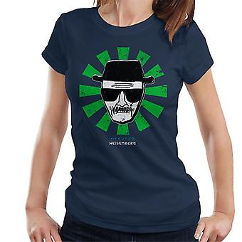 Heisenberg Retro Japonês Breaking Bad Women's T-Shirt