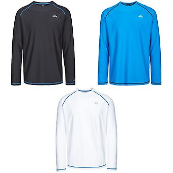 Trespass Mens Burrows Long Sleeve Active Top