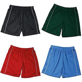 James og Nicholson Unisex grunnleggende Team Shorts