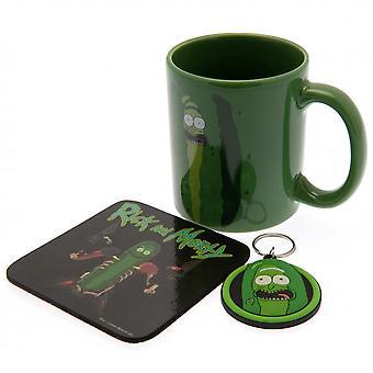 Rick And Morty Mug And Coaster Set