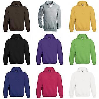B & C Mens Hooded Sweatshirt / Hoodie