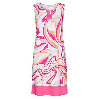 Féraud 3201010-10561 Kvinder's Couture Pink Multicolour Loungewear Natkjole