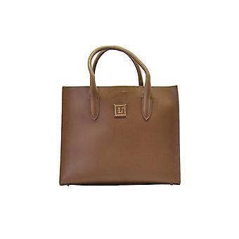 L'autre Koos Lbk002taupe Women's Beige Leather Handbag