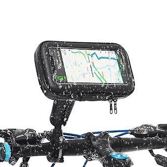 自転車バイクハンドルバースマートフォンiPhoneサムスン用防水電話バッグの携帯電話ホルダー