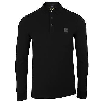 Hugo boss men's black passerby polo shirt