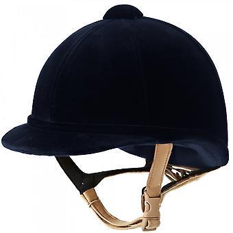 Charles Owen Hampton Riding hat-navy blå