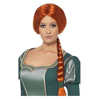 Shrek prinsessa Fiona peruukki