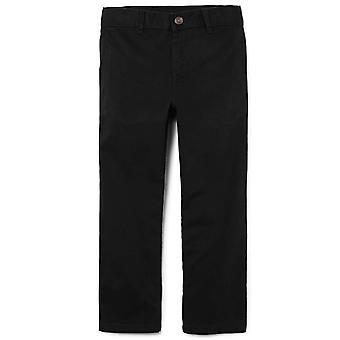 The Children's Place Little Boys' Chino Pant, Black, 6, Black, Size 6