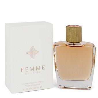 Usher femme eau de parfum spray door bode 547179 100 ml