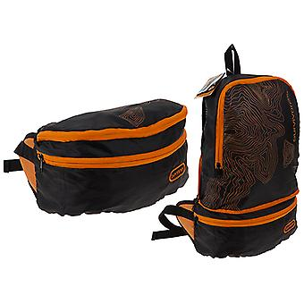 Summit Sentinel Waist Bag/ Waterproof Backpack Zwart en Oranje
