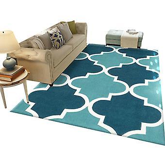 Quadratische hyperbolische gedruckt Teppich Polyester einfachen Teppich 120x160cm für Schlafzimmer und Wohnzimmer