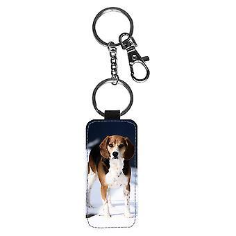 Hund Beagle Schlüsselanhänger