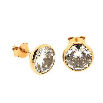 Bijoux pour tous Woman brass Ronde zirconium oxide 1200840
