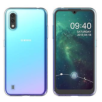 Samsung A01 Case Transparent - CoolSkin3T