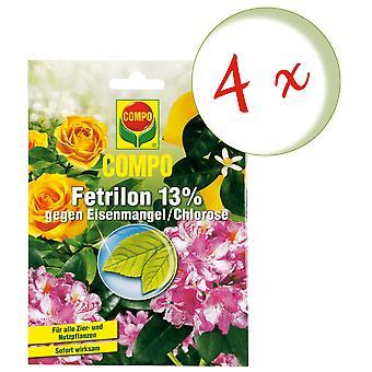 Sparset: 4 X COMPO Fetrilon 13%