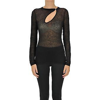 N°21 Ezgl068197 Women's Black Wool Sweater