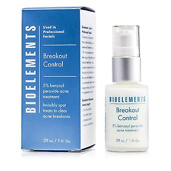 Breakout Control - 5% Benzoyl Peroxide Acne Treatment (for Very Oily Oily Combination Acne Skin Types) - 29ml/1oz