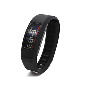 Replacement Wristband Bracelet Band Strap for Garmin Vivofit 2[Large,Black]