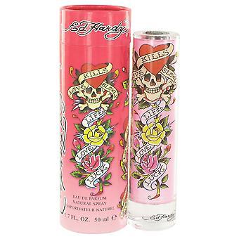 ED Hardy Eau De Parfum Spray von Christian Audigier 1.7 oz Eau De Parfum Spray
