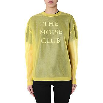 Mcq Door Alexander Mcqueen 579180rok017136 Vrouwen's Geel Nylon Sweatshirt