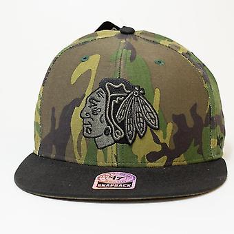 '47 Nhl Chicago Blackhawks Camo Snapback Cap
