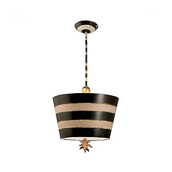 Southbeach Pendant Light, Black And Gold