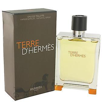 Terre D'hermes Eau De Toilette Spray By Hermes 6.7 oz Eau De Toilette Spray