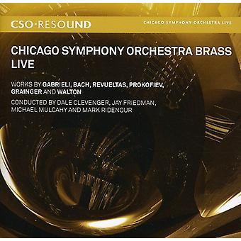 Gabrieli/Bach/Revueltas/Prokofiev/Grainger/Walton/ - Chicago Symphony Orchestra Brass: Live [SACD] USA import
