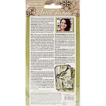 Stamperia Natural Rubber Sello Ardilla