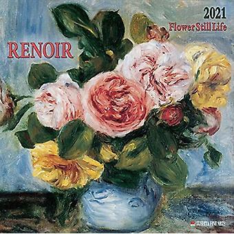 RENOIR FLOWERS STILL LIFE 2021 by Auguste Renoir