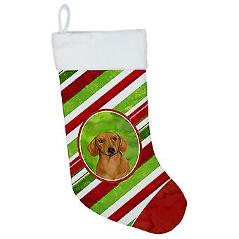 Dachshund Candy Cane Holiday Christmas Christmas Stocking LH9222