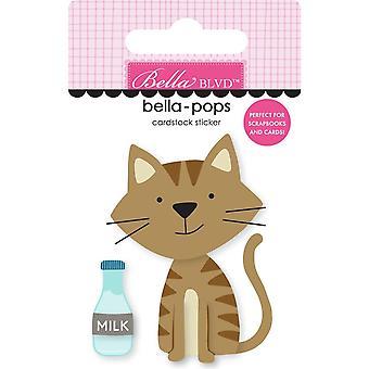 Bella Blvd Tabby Cat Bella-Pops (2buc) (BB2282)