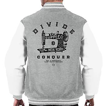 Divide & Conquer New York East Coast Edition Men's Varsity Jacket