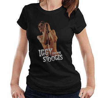 Iggy And The Stooges Live Shot Raw Power Women's T-Shirt